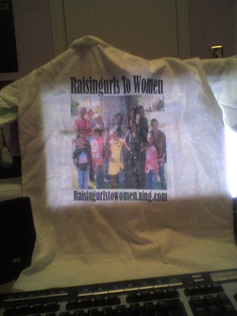 *Raisingurls To Women* T-Shirts for Cedarpointe!