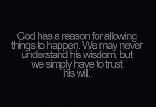 god has a reason